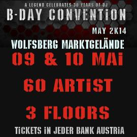 Eventtipp B-Day Convention