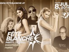 Eventbox.at Fete Blanche 2016 Ticket Aktion