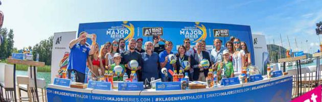 Swatch Beachvolleyball Major Series 2016 in Klagenfurt – Pressekonferenz