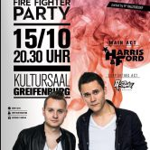 Fire Fighter Party mit Harris&Ford supported by DJ Q-Star