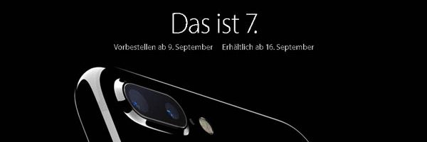 iPhone 7 – Das ist 7. Daten und Fakten