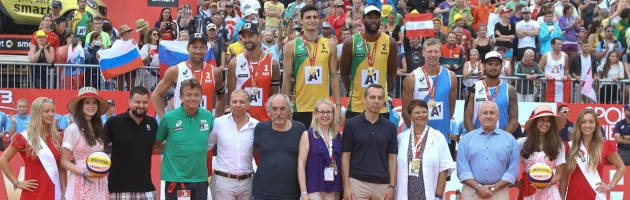 FIVB Beach Volleyball WM 2017 – Finale