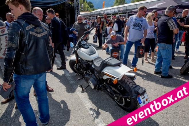 Fotos Harley Treffen Faaker See - European Bike Week 2017