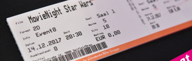 Raiffeisen Club Movie Night – Star Wars