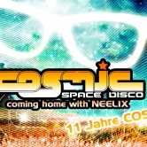 COSMIC Space Disco mit NEELIX live