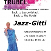 Meet and Greet  mit Jazz Gitti