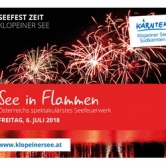 See in Flammen 2018 am Klopeiner See