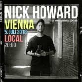 Nick Howard live in Vienna