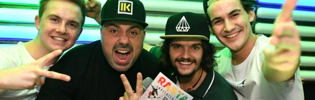 RASTA Invitational PRE-Party mit RUDY MC
