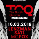 CONTRAST presents THE NORTH QUARTER – Label Night