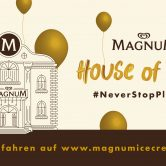 Magnum House of Play am 2. & 3. Juli 2019 in Wien im Palmenhaus / Burggarten