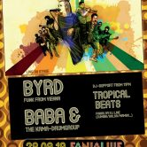 Africa Night #3 presents BYRD